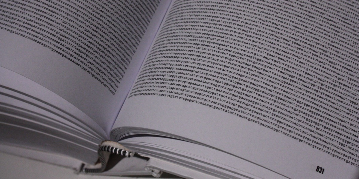 The Genome Sequence When Printed Fills A Huge Book Of Close Print