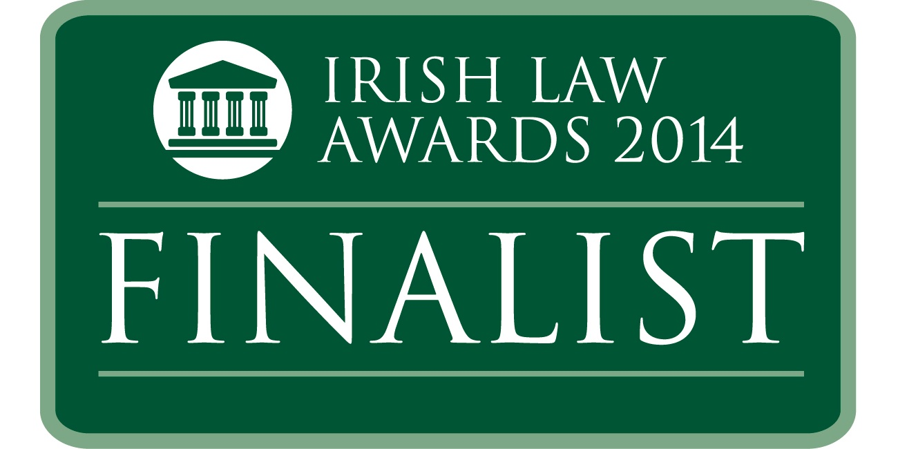 Irish Law Awards 2014 – Reilly & Co Shortlisted For Innovation Category
